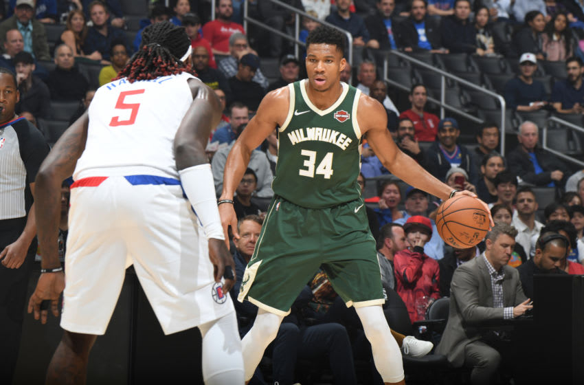 LA Clippers Milwaukee Bucks (Photo by Andrew D. Bernstein/NBAE via Getty Images)