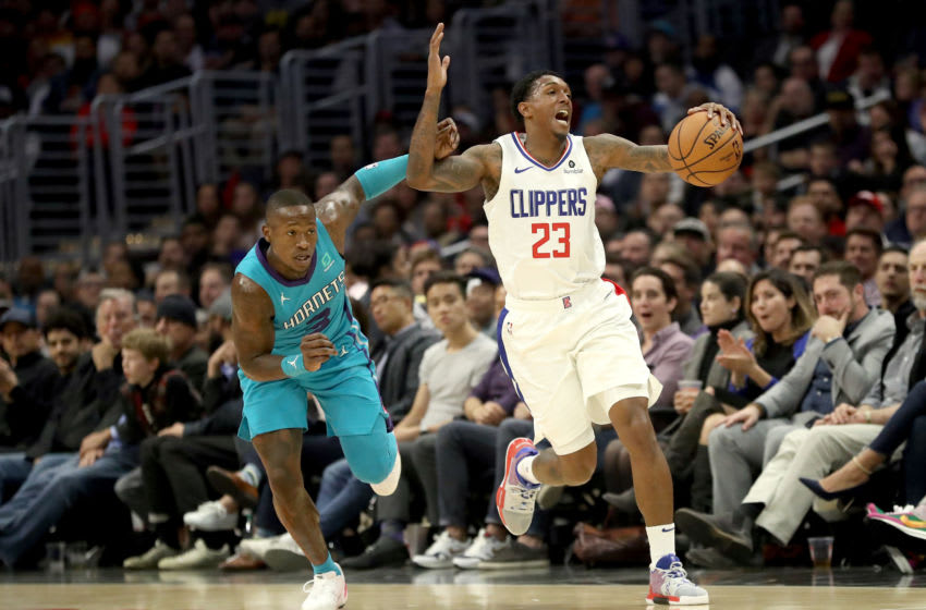 LA Clippers, Lou Williams, Terry Rozier (Photo by Sean M. Haffey/Getty Images)
