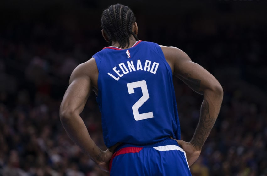 Kawhi Leonard LA Clippers (Photo by Mitchell Leff/Getty Images)