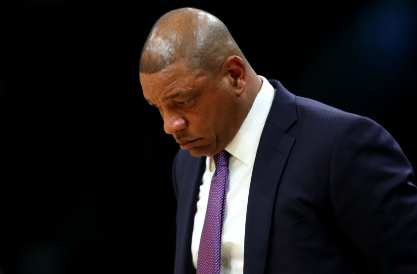 LA Clippers Doc Rivers (Photo by Maddie Meyer/Getty Images)