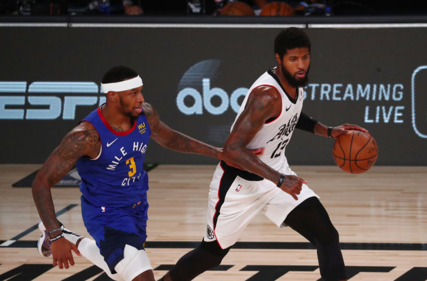 LA Clippers Paul George (Photo by Kim Klement-Pool/Getty Images)