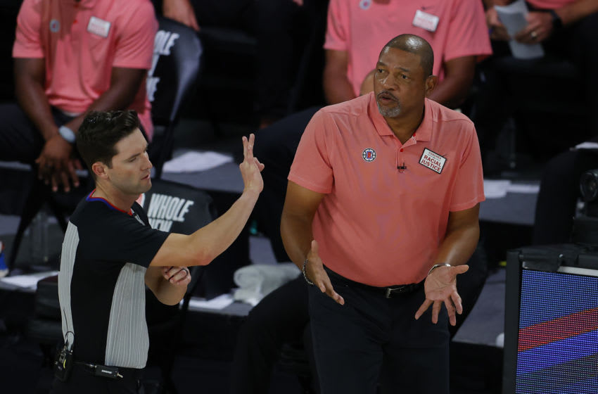 LA Clippers Doc Rivers (Photo by Kevin C. Cox/Getty Images)