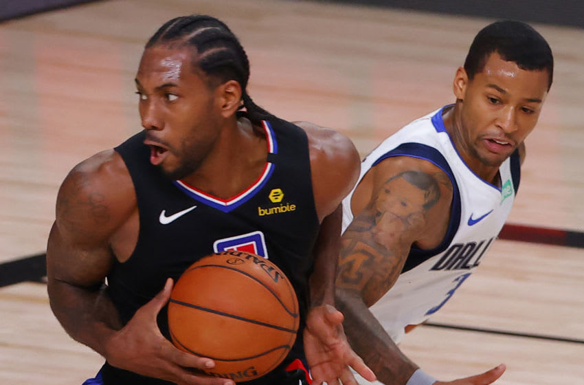 LA Clippers Kawhi Leonard (Photo by Kevin C. Cox/Getty Images)