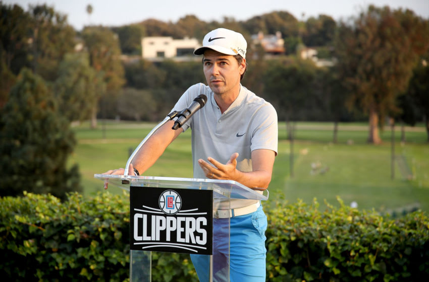 PACIFIC PALISADES, CA - OCTOBER 24: Radio Broadcaster Brian Sieman attends LA Clippers Foundation Charity Golf Classic on October 24, 2016 in Pacific Palisades, California. (Photo by Randy Shropshire/Getty Images for Play Golf Designs Inc. )