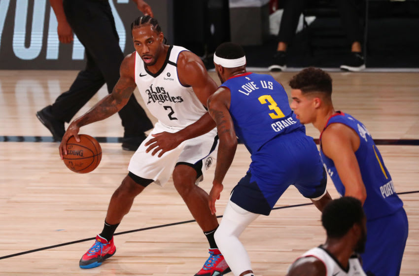 LA Clippers Kawhi Leonard (Photo by Kim Klement-Pool/Getty Images)