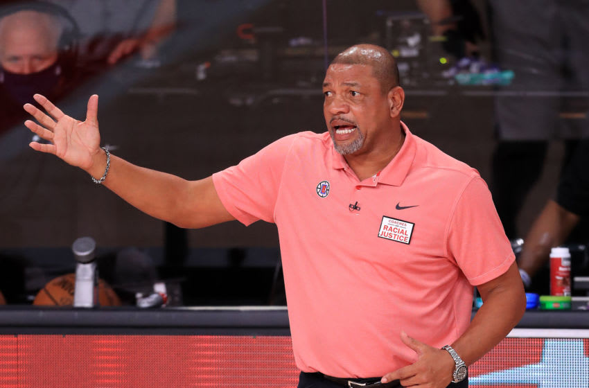 LA Clippers: Doc Rivers (Photo by Mike Ehrmann/Getty Images)