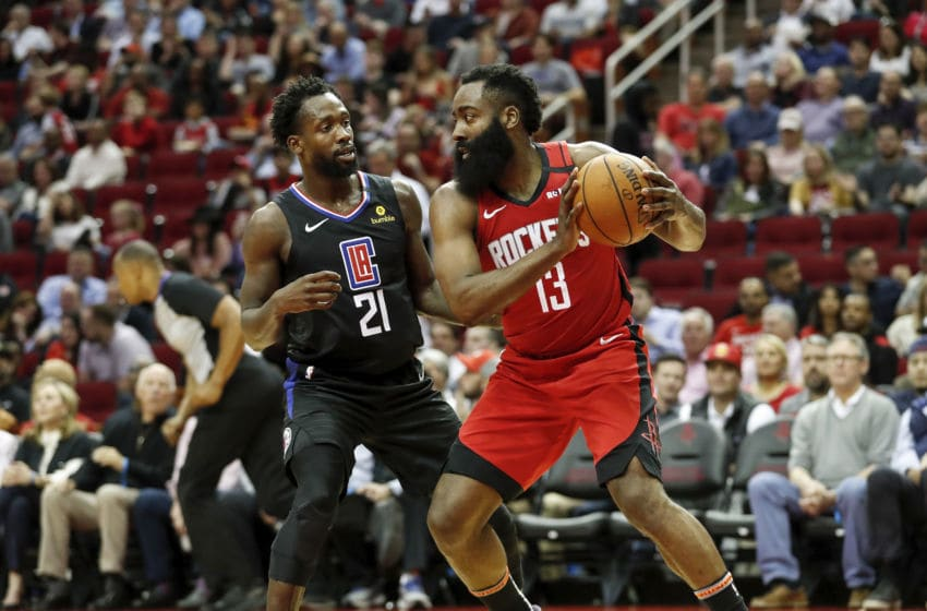LA Clippers Houston Rockets (Photo by Tim Warner/Getty Images)