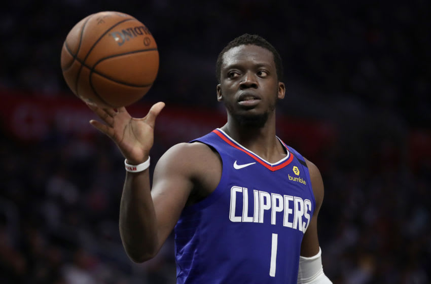 LA Clippers Reggie Jackson (Photo by Katelyn Mulcahy/Getty Images)