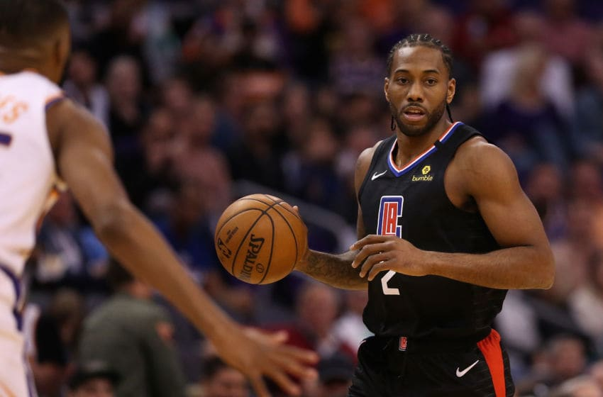 LA Clippers Kawhi Leonard (Photo by Christian Petersen/Getty Images)