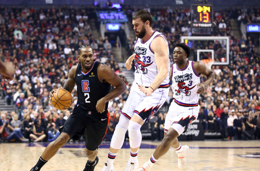 LA Clippers Toronto Raptors (Photo by Vaughn Ridley/Getty Images)