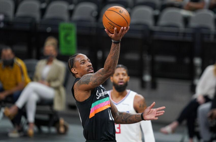 DeMar DeRozan, LA Clippers. Mandatory Credit: Daniel Dunn-USA TODAY Sports