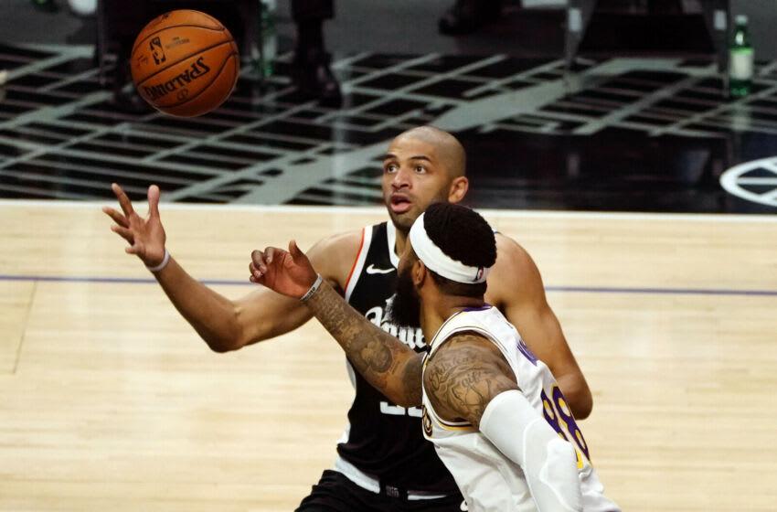 LA Clippers, Nicolas Batum. Mandatory Credit: Gary A. Vasquez-USA TODAY Sports