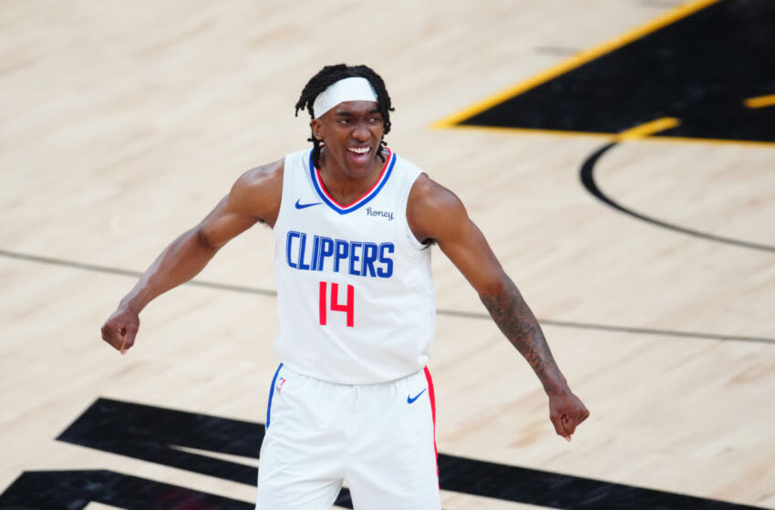 Terance Mann, LA Clippers. Mandatory Credit: Mark J. Rebilas-USA TODAY Sports