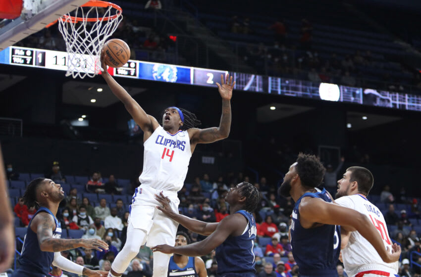 Terance Mann, LA Clippers. Mandatory Credit: Kiyoshi Mio-USA TODAY Sports
