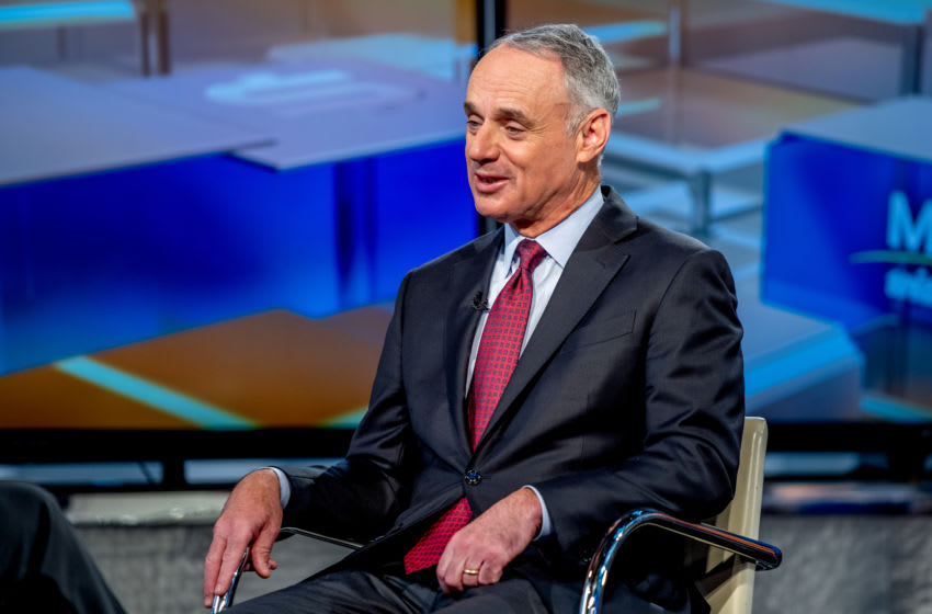 MLB Commissioner Rob Manfred (Photo by Roy Rochlin/Getty Images)