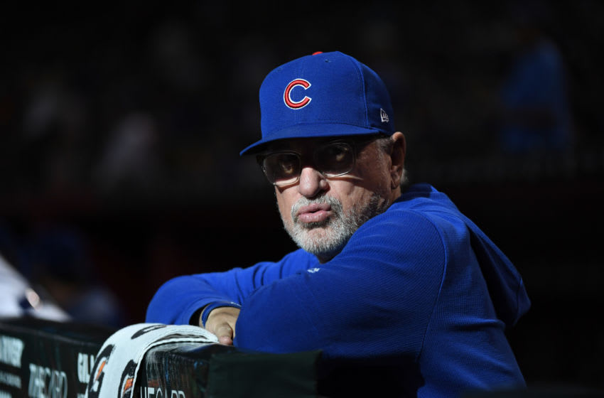 Joe Maddon / Chicago Cubs (Photo by Norm Hall/Getty Images)