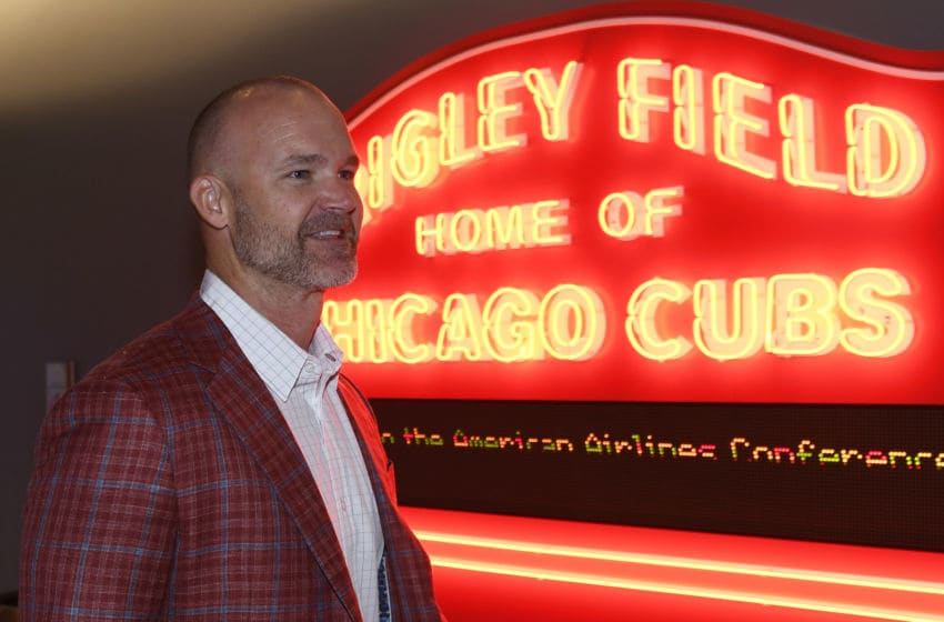 David Ross, Chicago Cubs (Photo by David Banks/Getty Images)