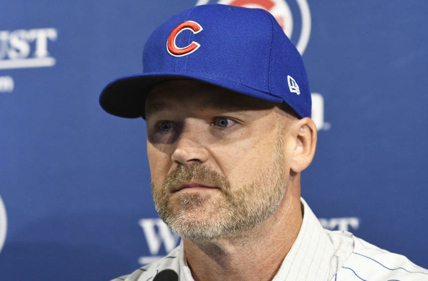 Chicago Cubs/ David Ross (Photo by David Banks/Getty Images)
