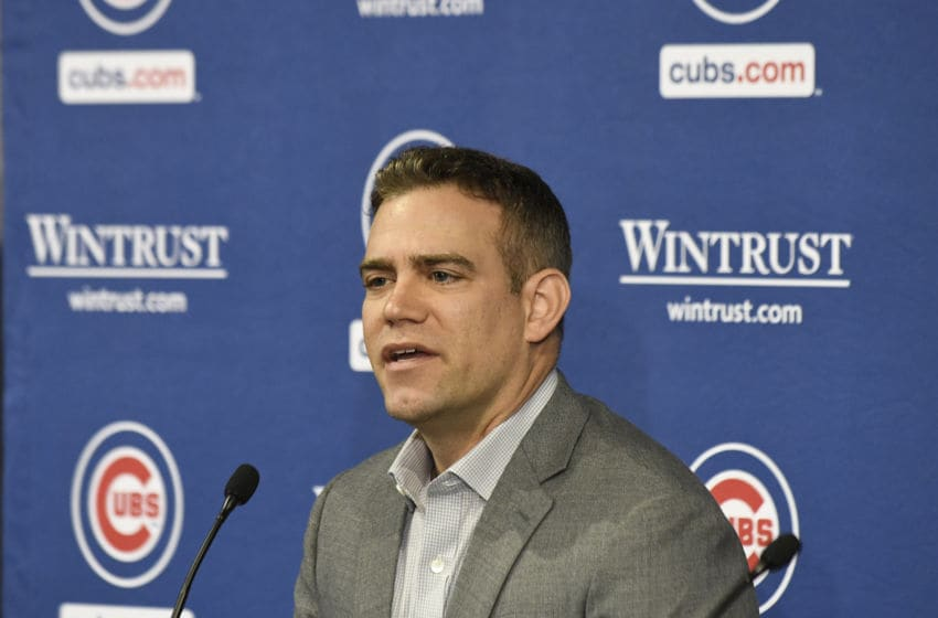 Theo Epstein, Chicago Cubs (Photo by David Banks/Getty Images)