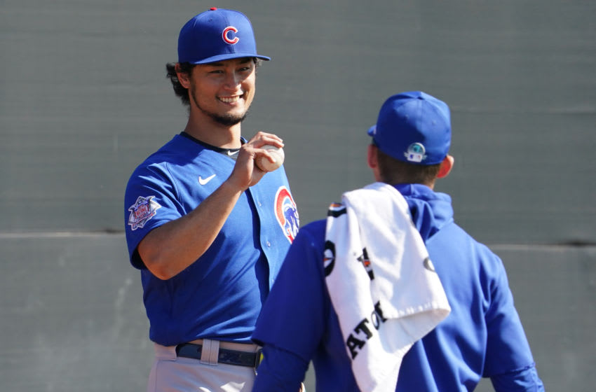 Yu Darvish, Chicago Cubs (Photo by Masterpress/Getty Images)