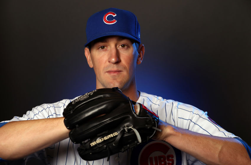 Kyle Hendricks (Photo by Jamie Squire/Getty Images)