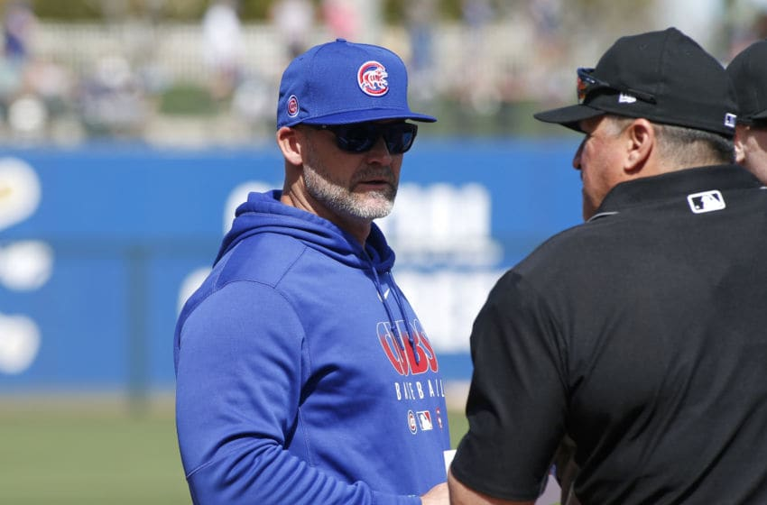 David Ross - Chicago Cubs (Photo by Ralph Freso/Getty Images)