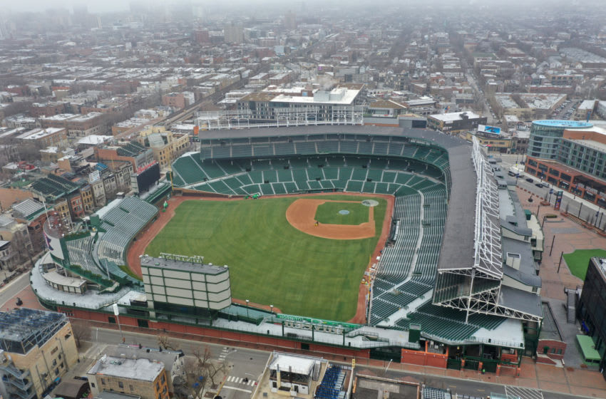 Wrigley Field, home of the Chicago Cubs (Photo by Scott Olson/Getty Images)