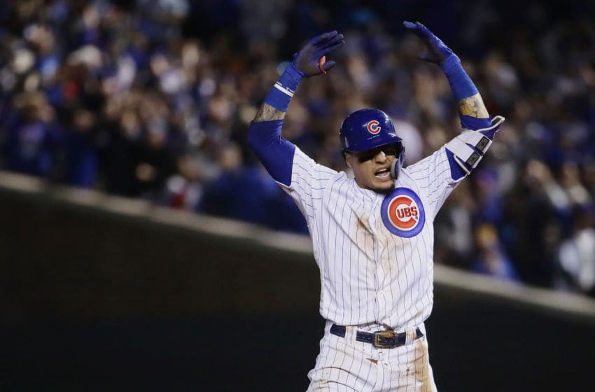 Javier Baez/ Chicago Cubs (Photo by Jonathan Daniel/Getty Images)