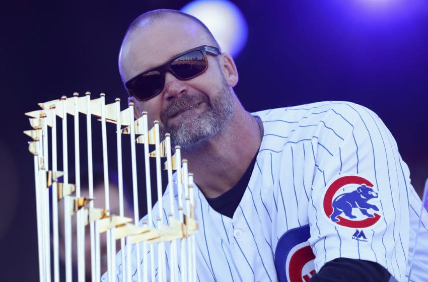David Ross / Chicago Cubs (Photo by Jonathan Daniel/Getty Images)
