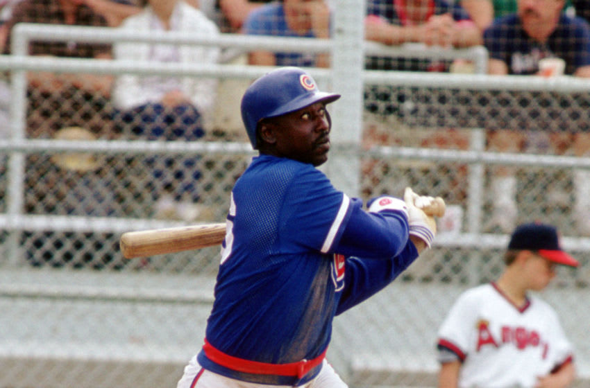 Gary Matthews, Chicago Cubs (Photo by: 1987 SPX/Diamond Images/Getty Images)