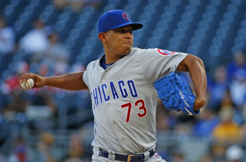 Adbert Alzolay #73, Chicago Cubs (Photo by Justin K. Aller/Getty Images)