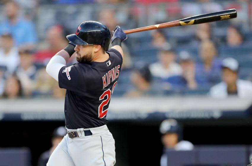 Jason Kipnis, Cleveland Indians (Photo by Elsa/Getty Images)