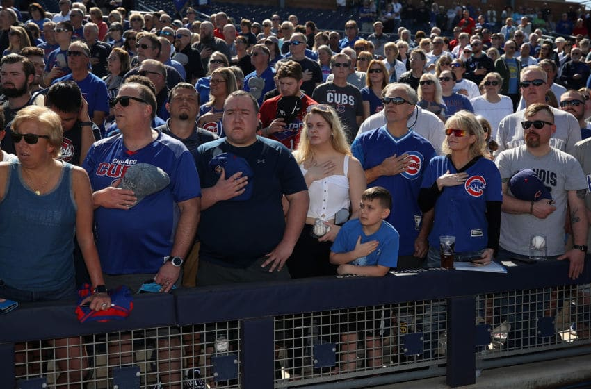 Chicago Cubs fans (Photo by Christian Petersen/Getty Images)