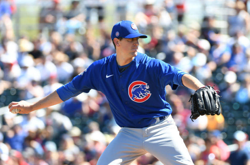 Kyle Hendricks, Chicago Cubs (Photo by Norm Hall/Getty Images)