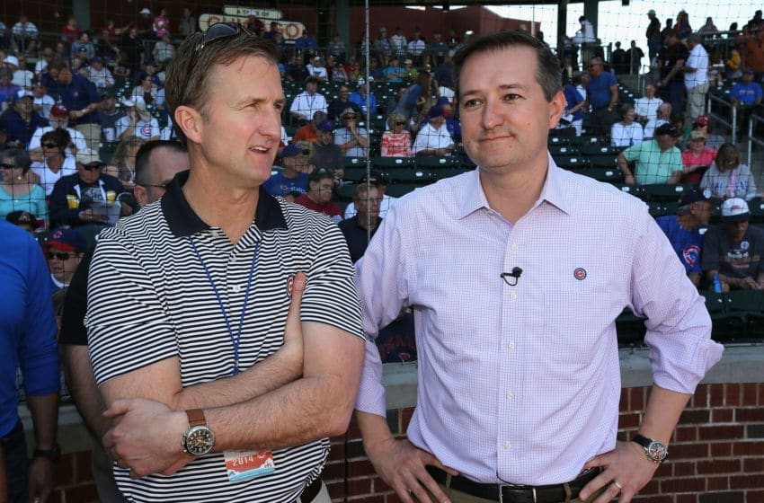 Crane Kenney, Tom Ricketts - Chicago Cubs (Photo by Christian Petersen/Getty Images)