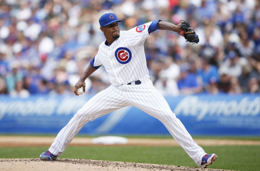Edwin Jackson, Chicago Cubs (Photo by Joe Robbins/Getty Images)