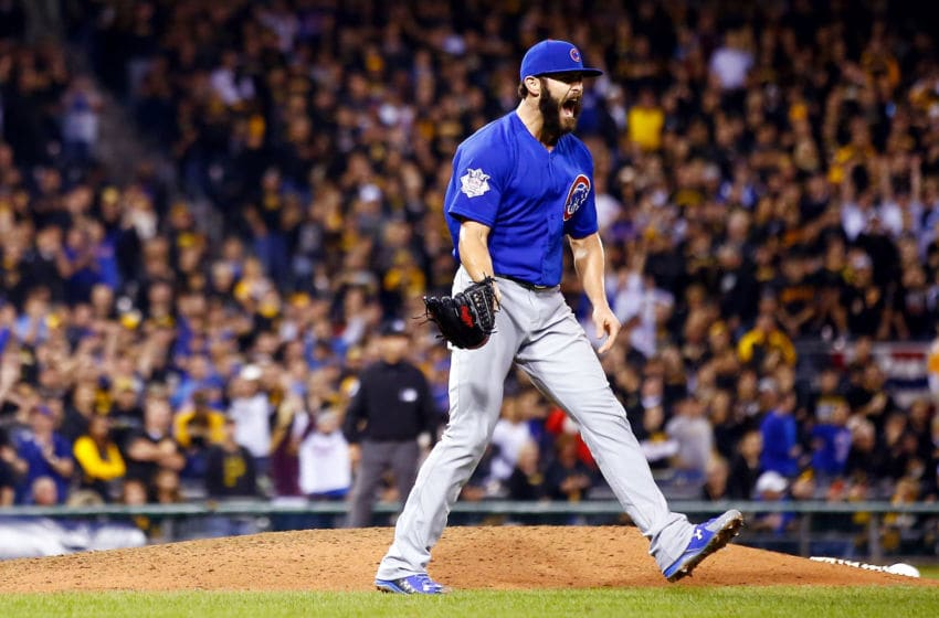 Jake Arrieta, Chicago Cubs (Photo by Jared Wickerham/Getty Images)