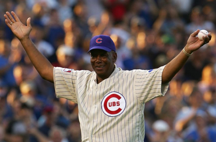 Ernie Banks, Chicago Cubs (Photo by Chris McGrath/Getty Images)
