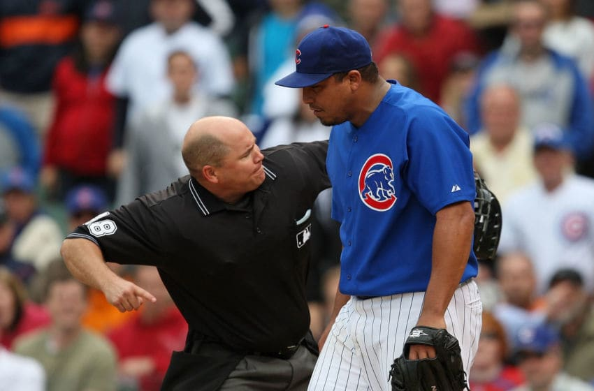 Carlos Zambrano / Chicago Cubs (Photo by Jonathan Daniel/Getty Images)