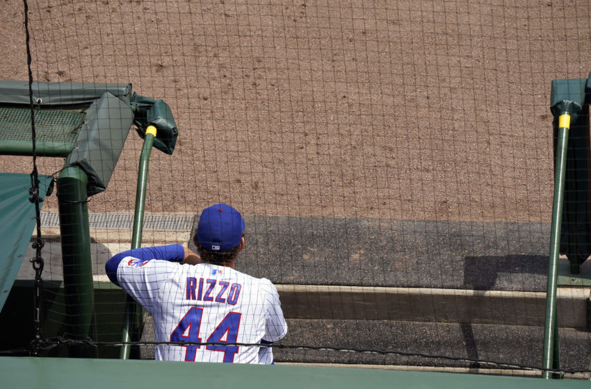 Anthony Rizzo (Photo by Nuccio DiNuzzo/Getty Images)