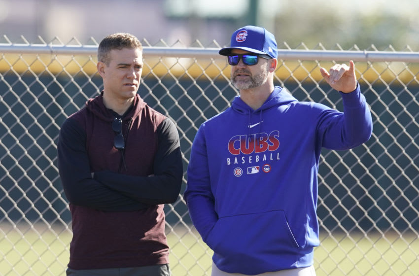 Theo Epstein now runs a gutted Cubs baseball operations department. (Mandatory Credit: Rick Scuteri-USA TODAY Sports)