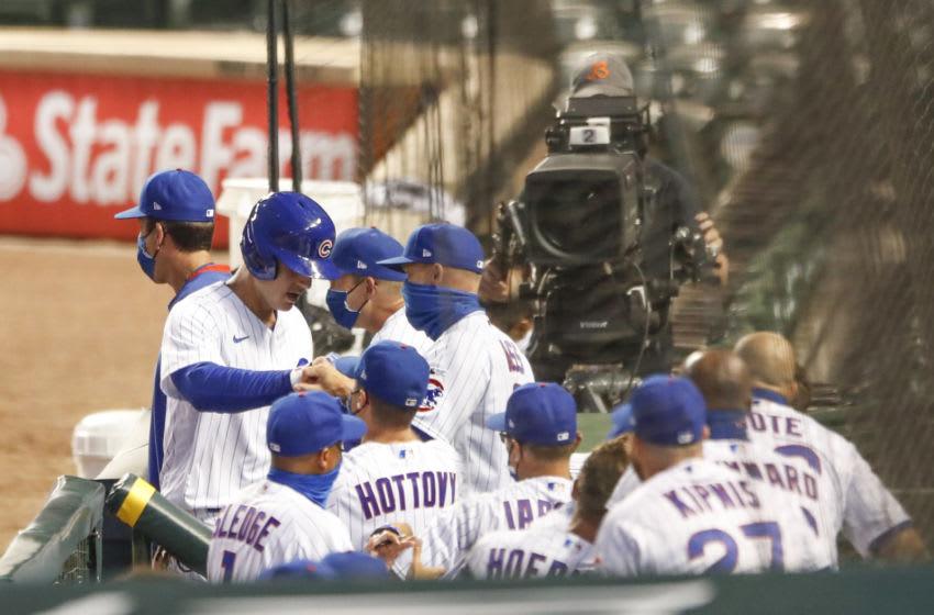 Anthony Rizzo, Chicago Cubs Mandatory Credit: Kamil Krzaczynski-USA TODAY Sports