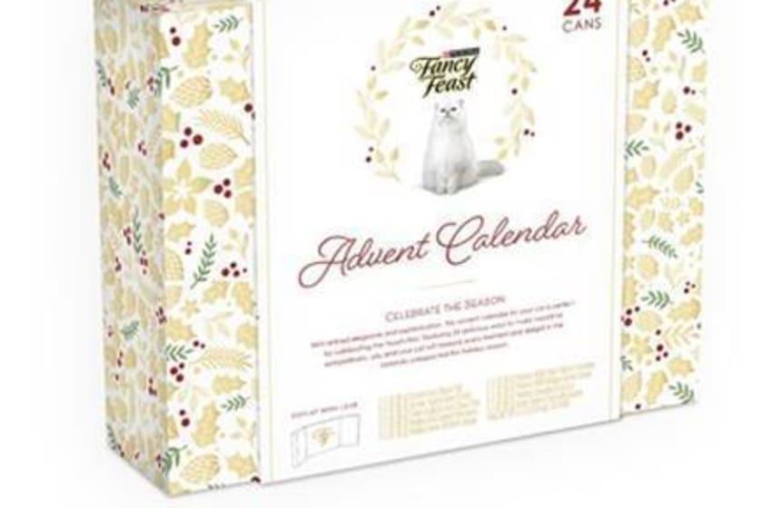 Treat your feline to Fancy Feast's cat food 2020 Advent calendar.
