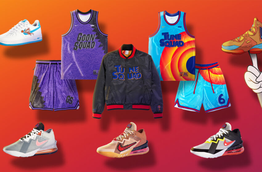 Discover Nike's Space Jam: A New Legacy collection.