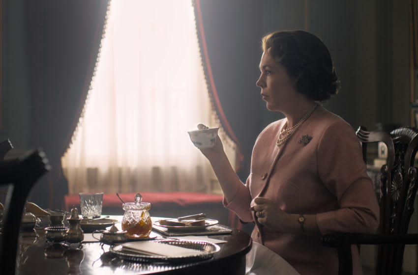 Photo: Olivia Colman in The Crown: Season 3.. Image Courtesy Netflix