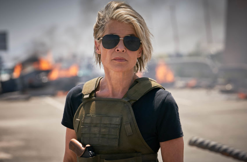 Linda Hamilton stars in Skydance Productions and Paramount Pictures'