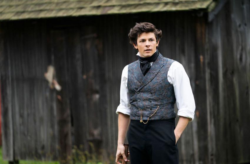 "Adrian Blake Enscoe in ""Dickinson,"" premiering November 1 on Apple TV+.. Image Courtesy Apple TV+"