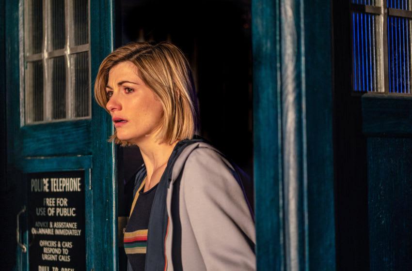 Jodie Whittaker as The Doctor - Doctor Who _ Season 12, Episode 2 - Photo Credit: James Pardon/BBC Studios/BBC America
