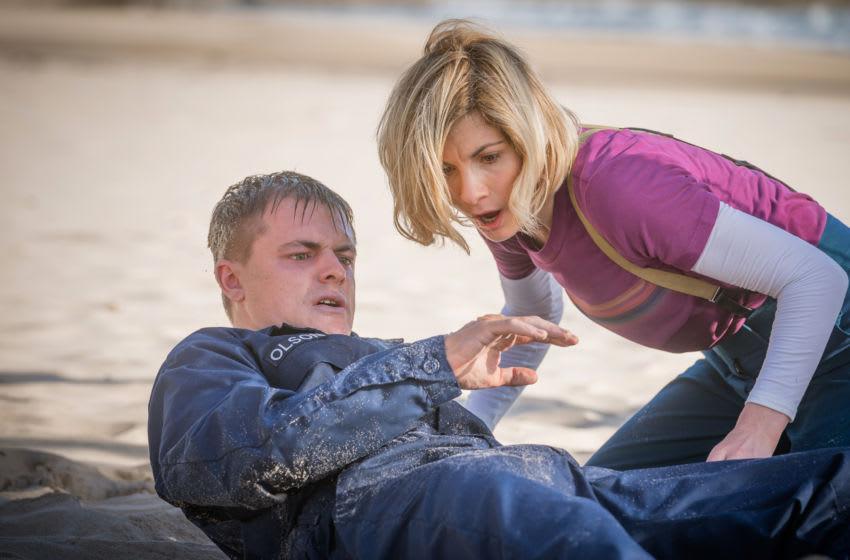 Jodie Whittaker as The Doctor, Tristan de Beer as Zach Lawson - Doctor Who _ Season 12, Episode 6 - Photo Credit: Ben Blackall/BBC Studios/BBC America