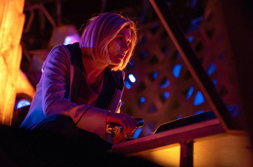 Jodie Whittaker as The Doctor - Doctor Who _ Season 12, Episode 6 - Photo Credit: James Pardon/BBC Studios/BBC America